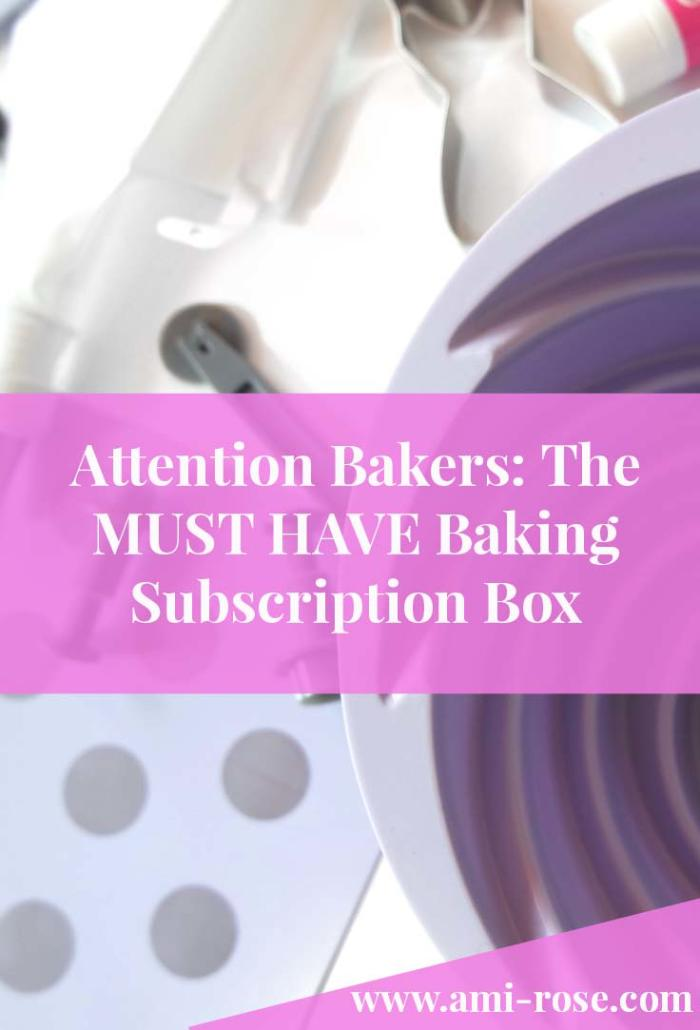 Attention Bakers: The Must Have Baking Subscription Box. Each month's filled with bakeware up to the value of £100