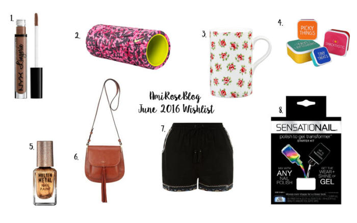 June 2016 Wishlist