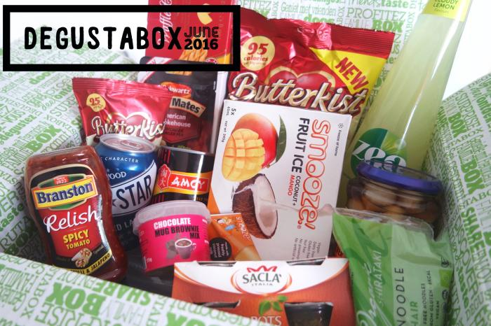 Degustabox June 2016