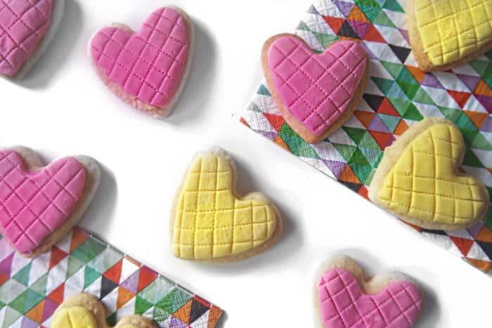 Regal Iced Shortbread Hearts