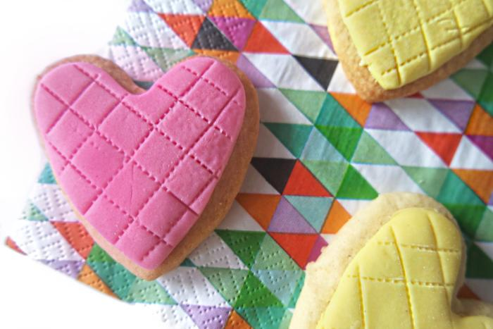 Regal Iced Shortbread Hearts