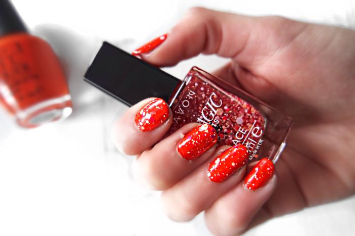 Avon Magic Effects Lace Lacy Red
