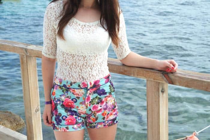 Beach Floral OOTD