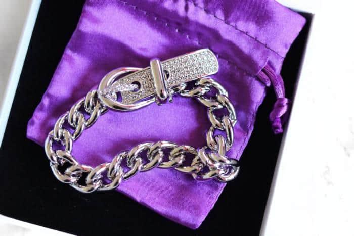 Just Between Us Crystal Bracelet