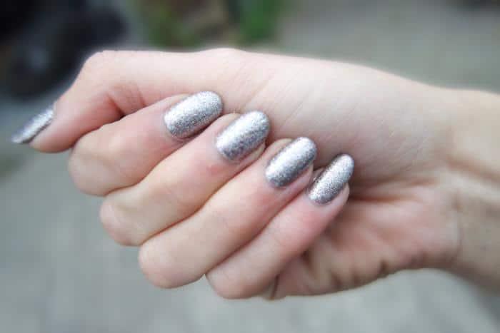 Manicure Monday BarryM Silver Multi Glitter