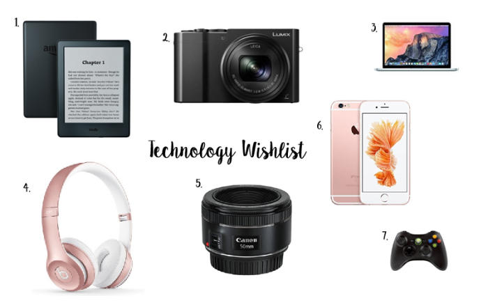 Technology Wishlist 2016