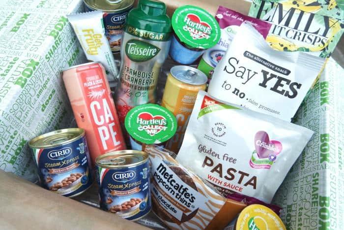 Food Subscription Boxes Degustabox September 2016