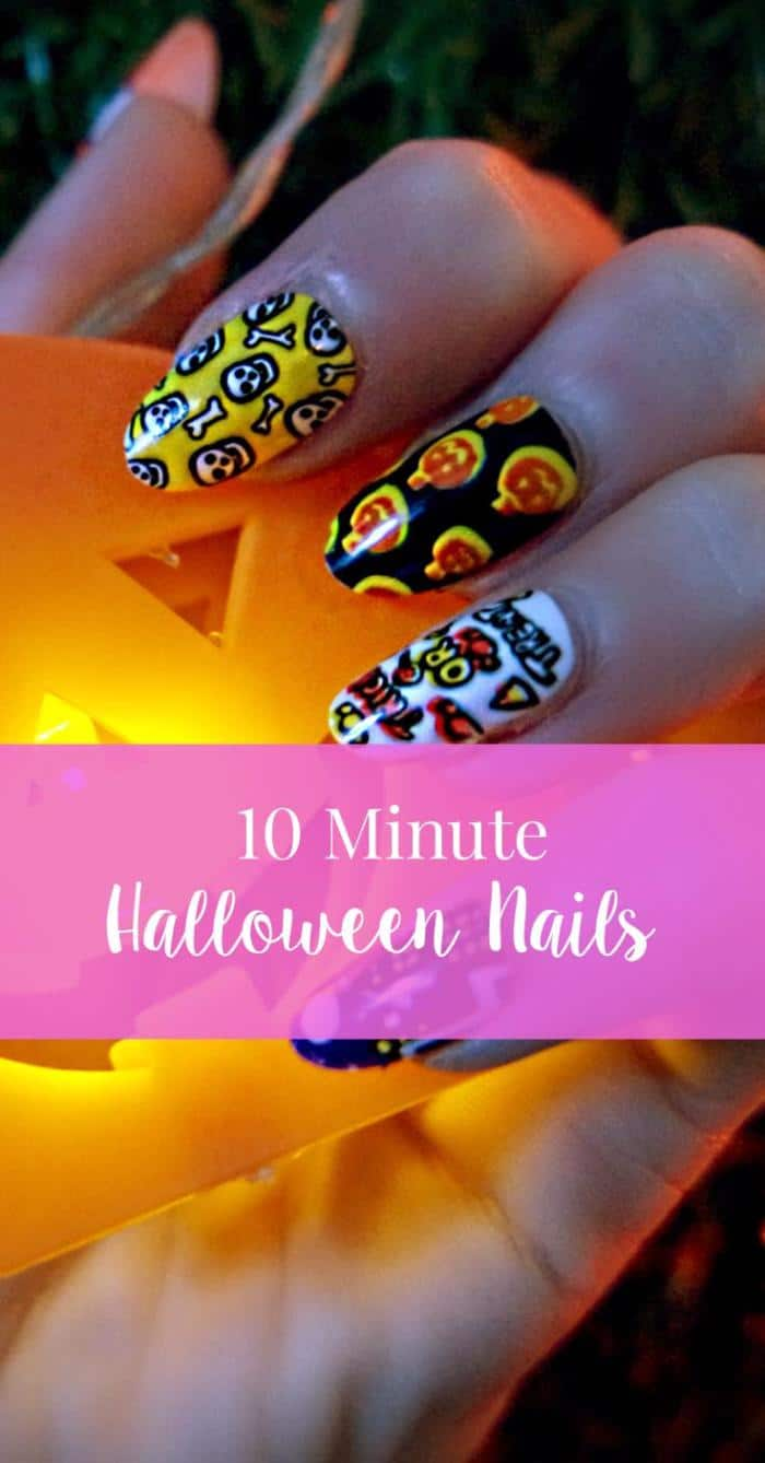 Halloween Nails with Elegant Touch. Nails from just £4.65.