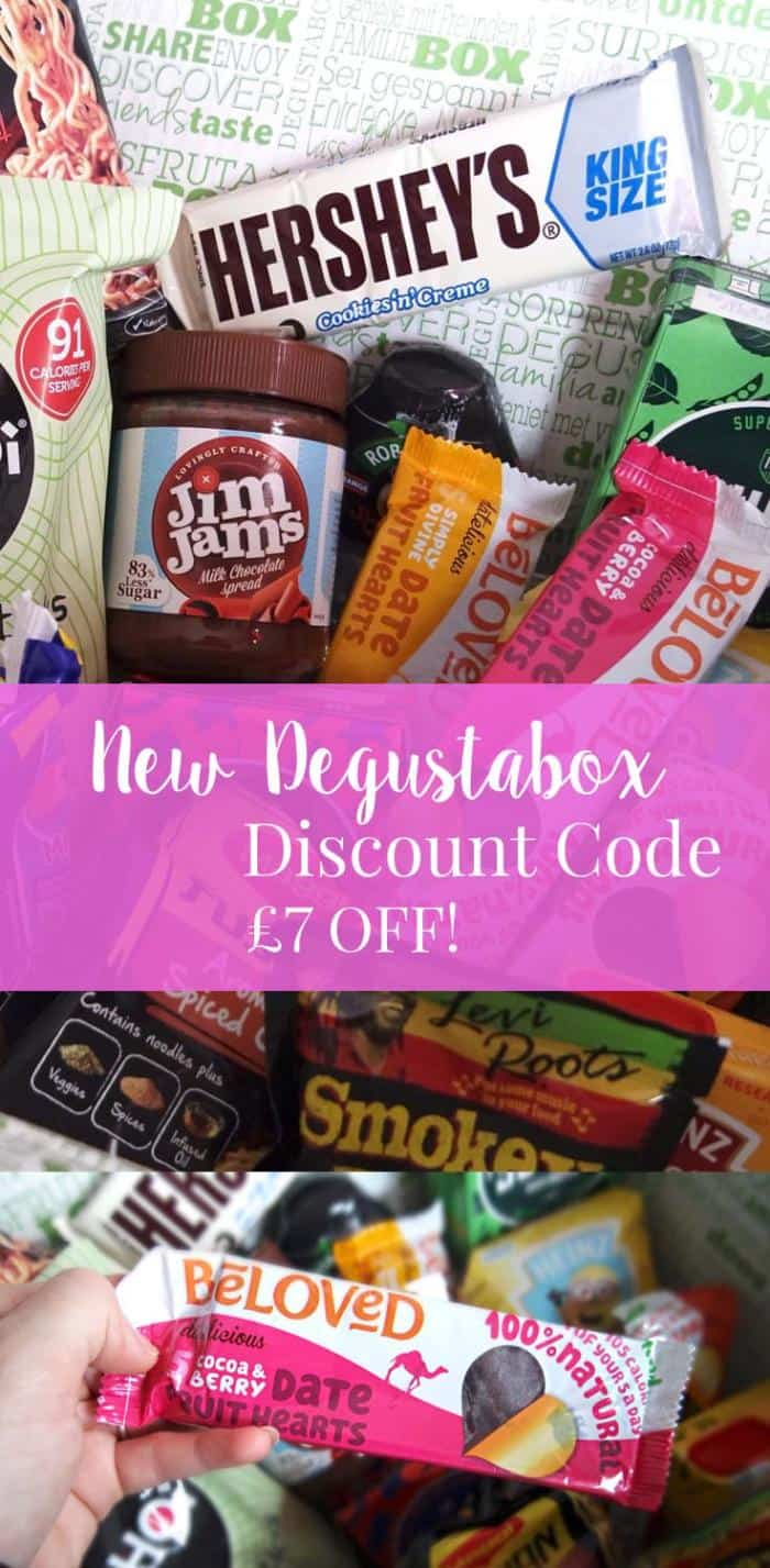 The Autumn Degustabox Contents featuring a NEW Degustabox Voucher Code. Get all of this food for just £5.99.
