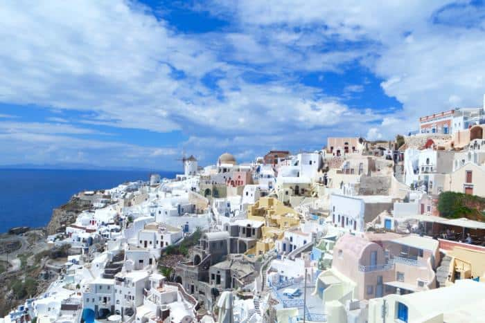 Adventures in Santorini Greece