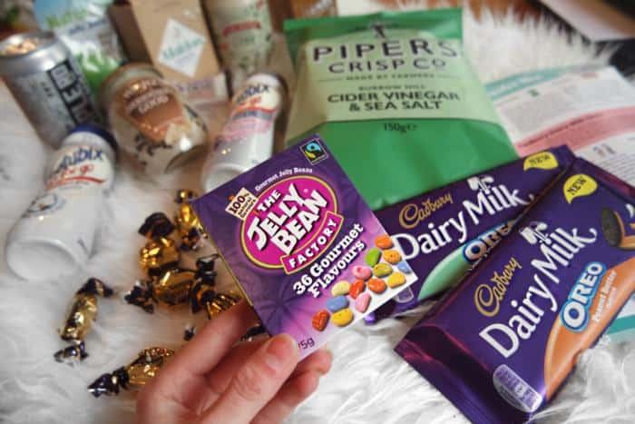 Easter Degustabox feat. Mylk, Dairy Milk Oreo and Pipers Crisps