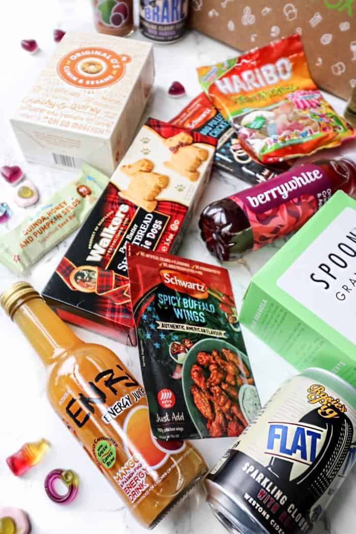 Degustabox Monthly Food Subscription Box BBQ Theme