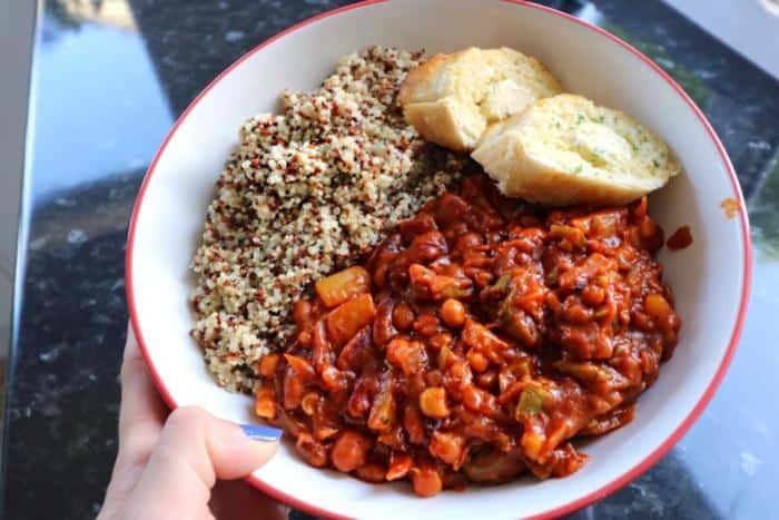 Vegetarian Chilli Vegetarian Meal Ideas
