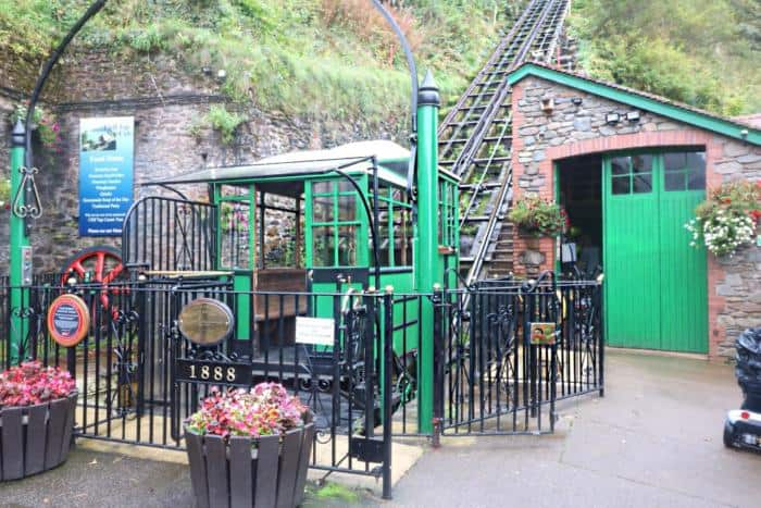 Lynton and Lynmouth Cliff Railway - The Ultimate Camping Trip Around Devon and Cornwall