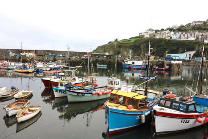 Mevagissy Fishing Village - Burgh Island Sea Tractor - The Ultimate Camping Trip Around Devon and Cornwall