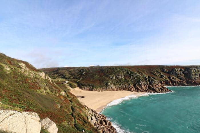 Porthcurno Beach - The Ultimate Camping Trip Around Devon and Cornwall