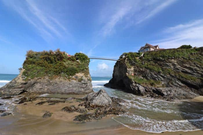 Towan Island Newquay - The Ultimate Camping Trip Around Devon and Cornwall