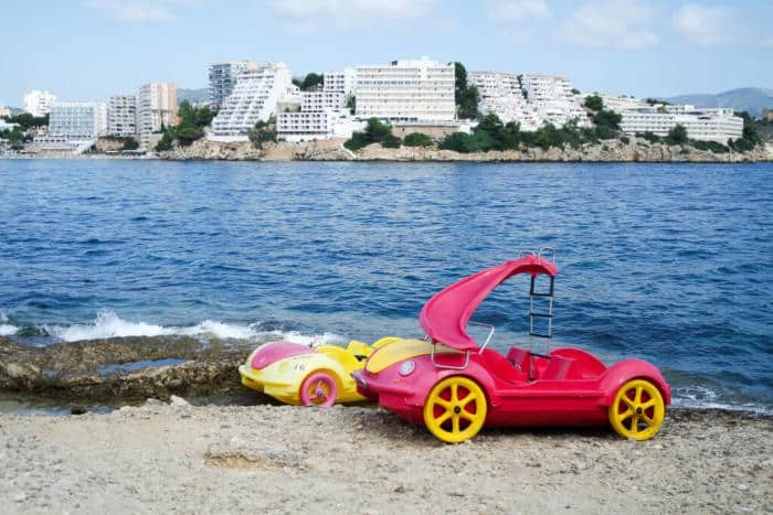 Things To Do In Majorca Pedalo Hire