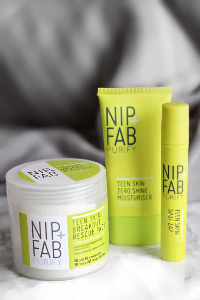 Nip and Fab Teen Skin Fix Range Review