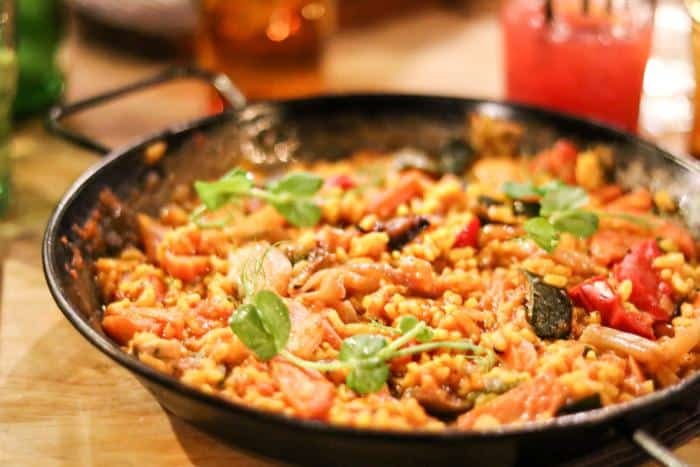 The Cuban Bristol Paella