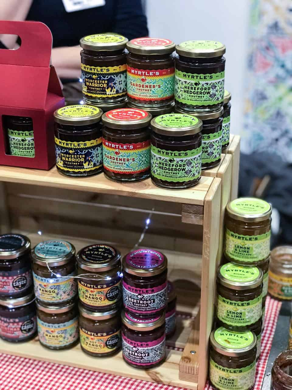 Myrtles Chutney BBC Good Food Show Winter