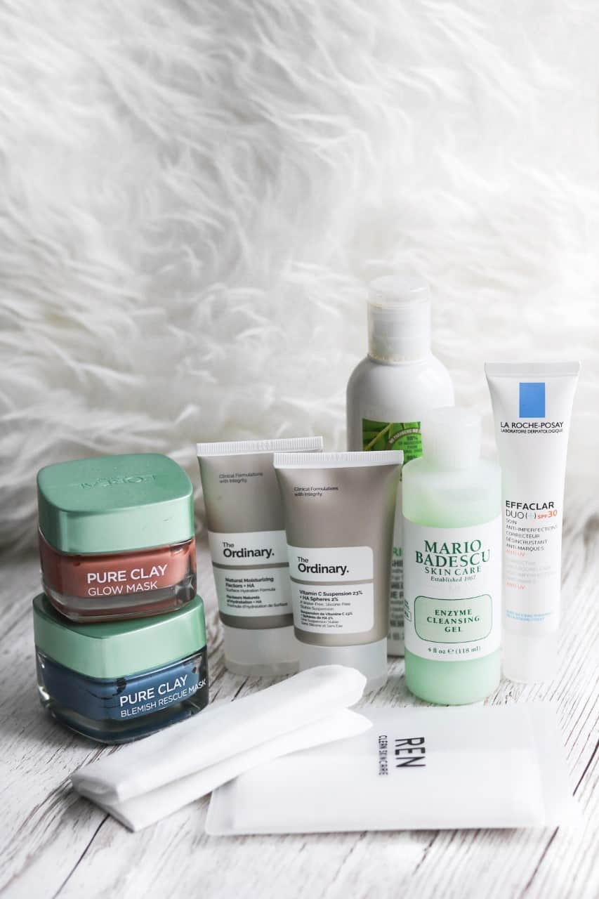 Acne Prone Skincare Routine