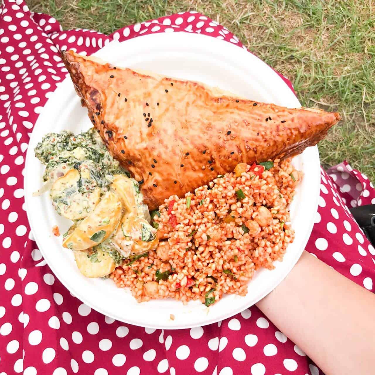 Bristol Harbour Festival Food Stalls Feta Tart