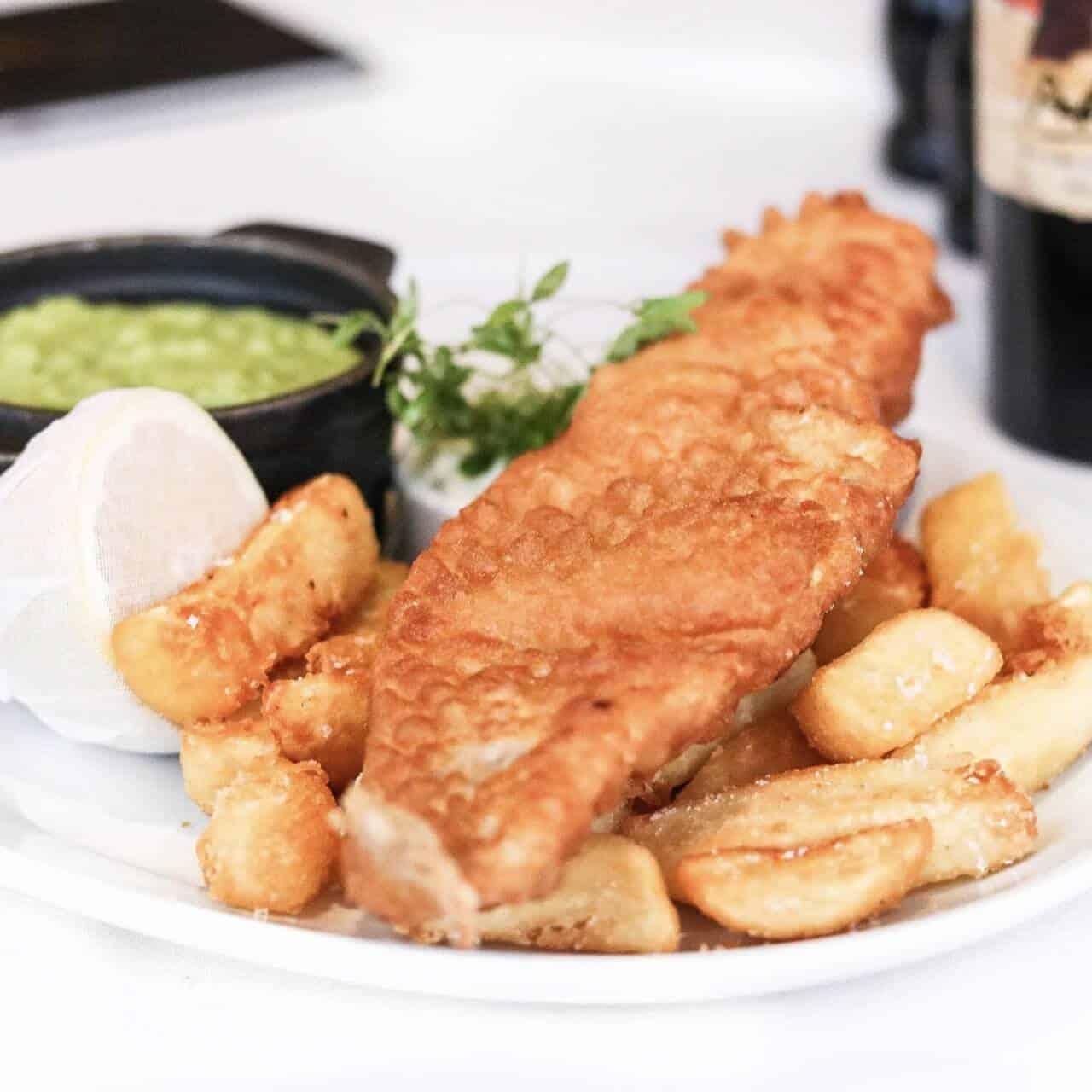 Cadbury House Hotel Fish & Chips
