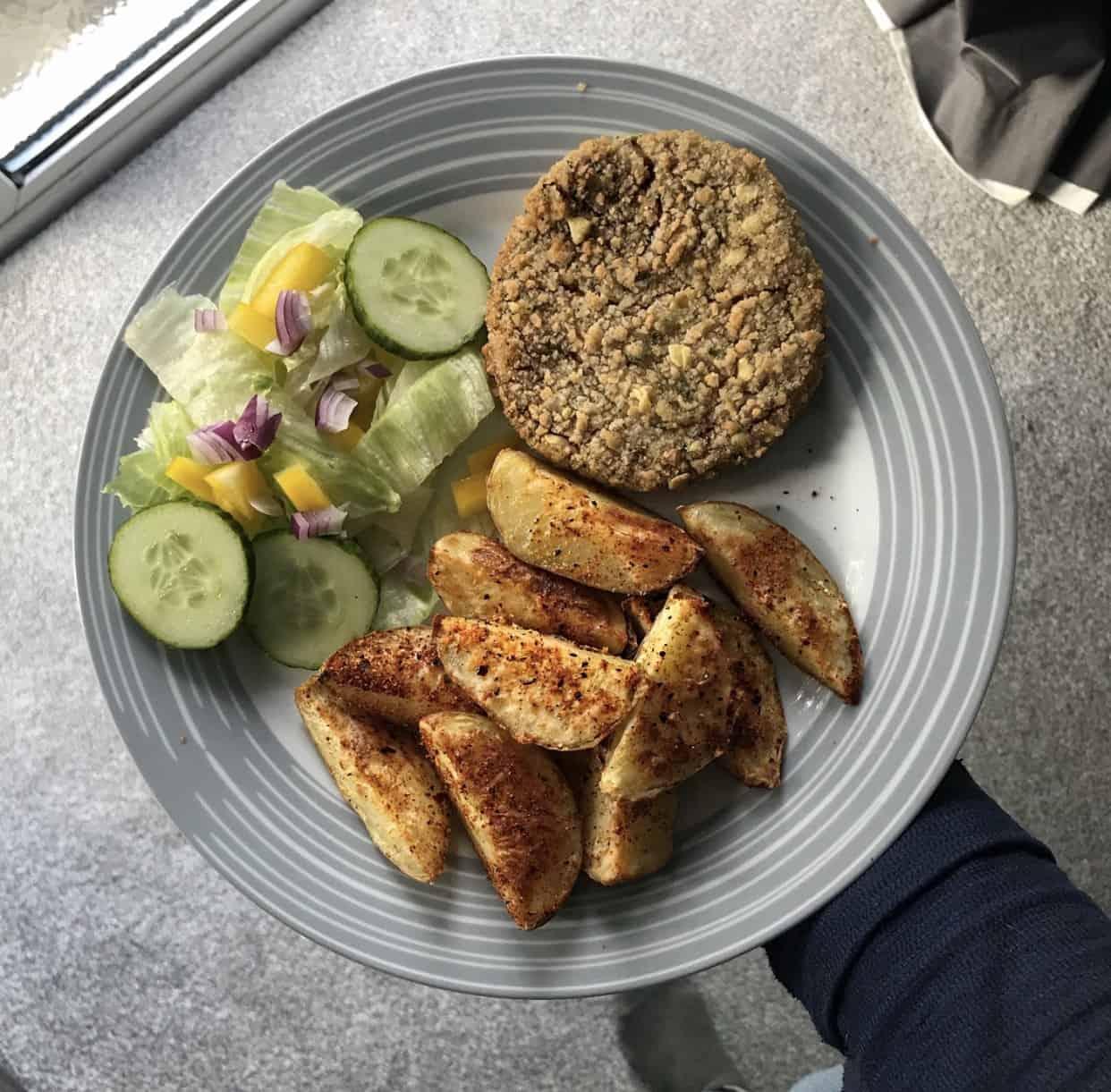 Homemade Potato Wedges - Schwartz Spicy Paprika