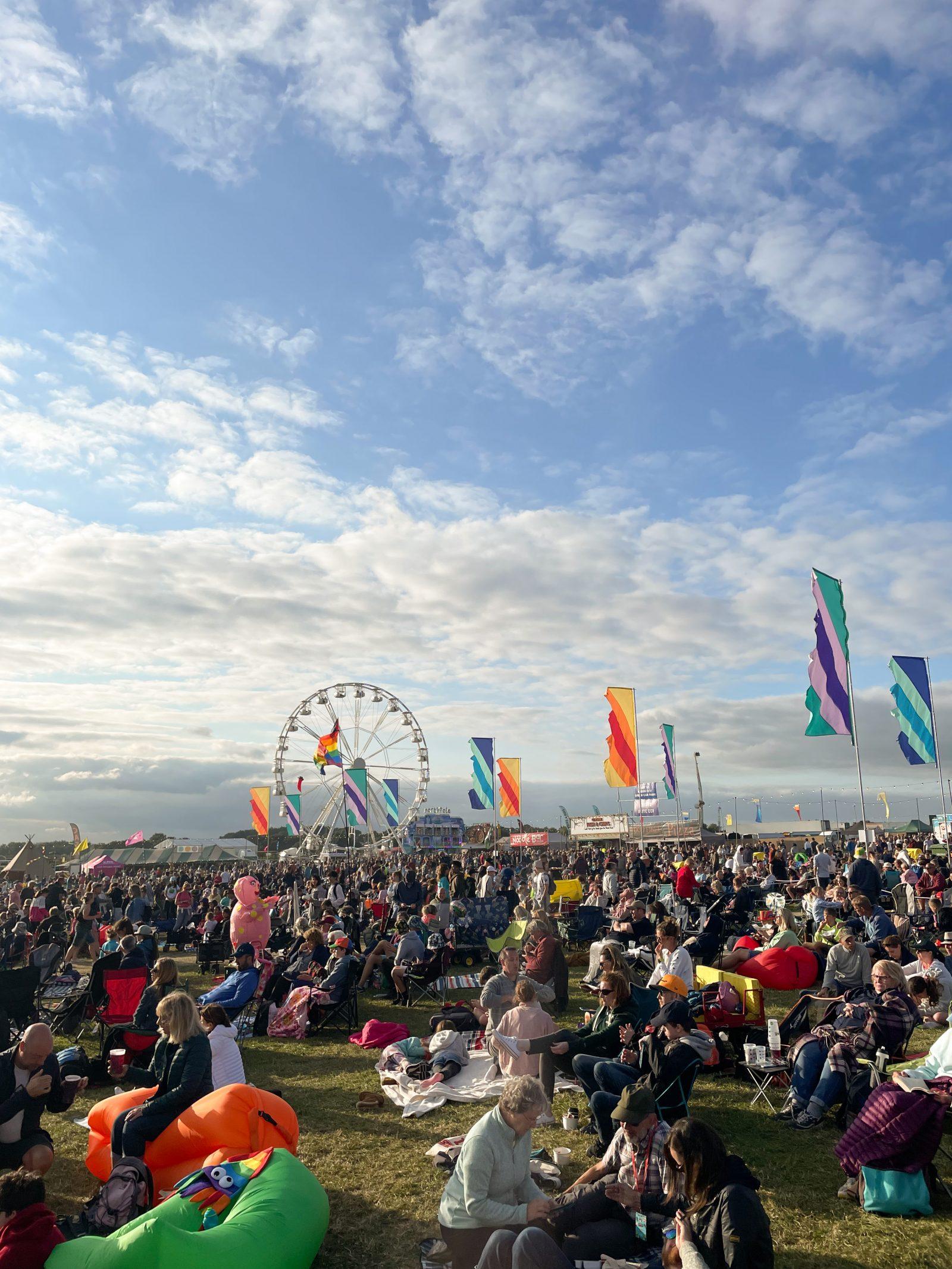 CarFest South Festival Crowd and Fairground